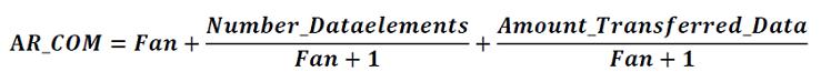 AUTOSAR Communication Metric計算式